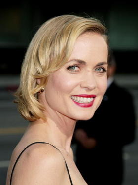 &quot;Feast of Love&quot; star Radha Mitchell at the Beverly Hills premiere. 